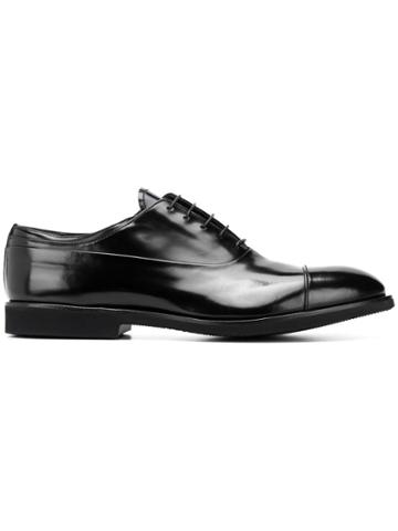 Premiata Classic Oxford Shoes - Black
