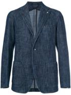 Tagliatore Denim Blazer - Blue