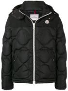 Moncler Quilted Hooded Jacket - Black