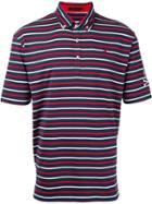 Loveless Striped Polo Shirt - Blue