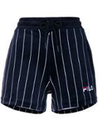 Fila Maryana Striped Shorts - Blue