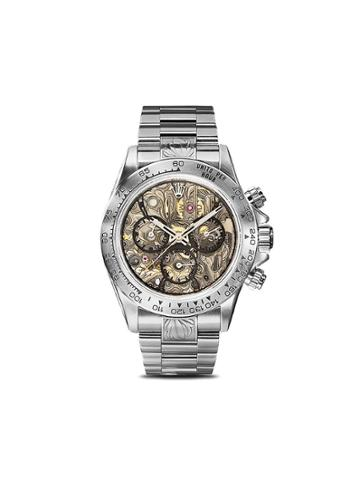 Mad Paris Rolex Daytona Openwork Sk Ii 40mm - Grey