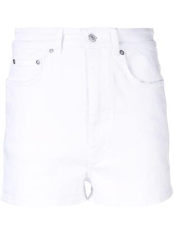 Givenchy Short Denim Shorts - White