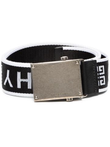 Givenchy Black White Logo Belt - Unavailable