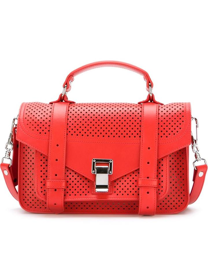 Proenza Schouler Tiny 'ps1' Satchel, Women's, Red