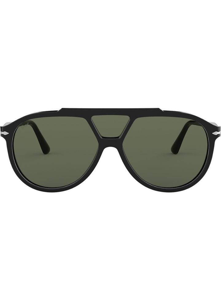 Persol Aviator Sunglasses - Black