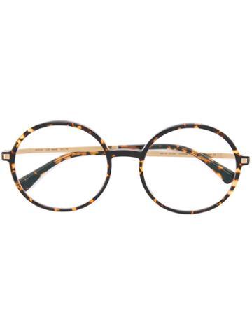 Mykita Anana Glasses, Brown, Acetate/stainless Steel