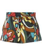 Marni Printed Mini Shorts