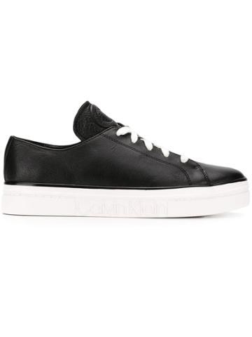 Calvin Klein Calvin Klein 205w39nyc E2200 Blk Calf Leather - Black