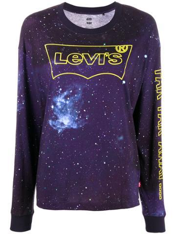 Levi's Logo Star Wars Long-sleeve Top - Blue