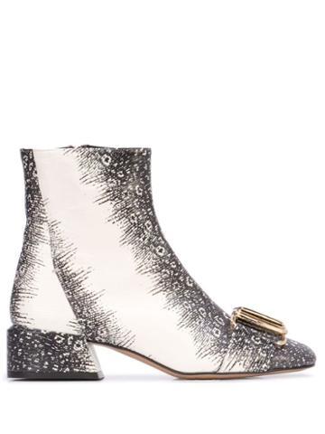 Tibi Wyatt Boots - White