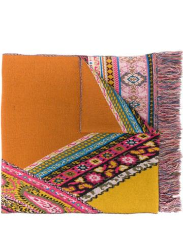 Etro Knitted Scarf - Brown