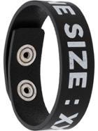 Diesel One Size Bracelet - Black