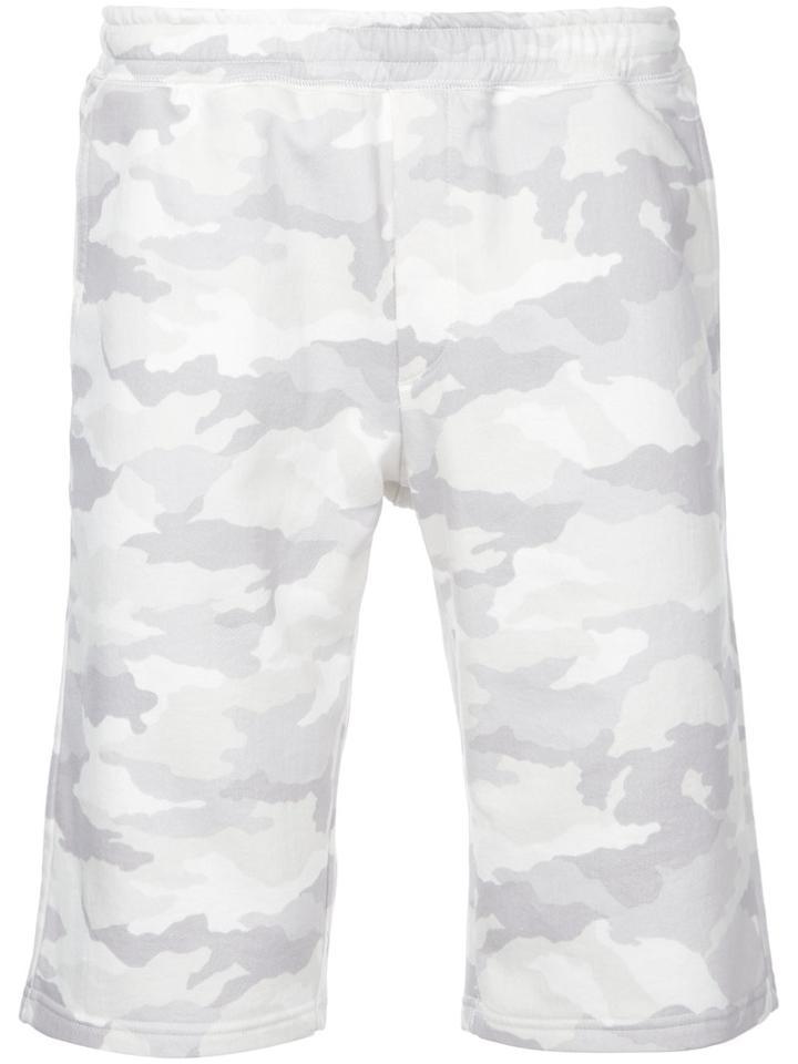 Loveless - Camouflage Shorts - Men - Cotton/polyester/tencel - 0, White, Cotton/polyester/tencel