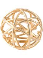 Eshvi 'astro' Ring, Women's, Size: 8, Metallic