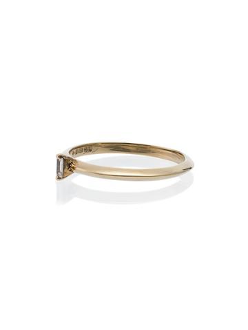 Lizzie Mandler Fine Jewelry 18k Yellow Gold Diamond Baguette Ring