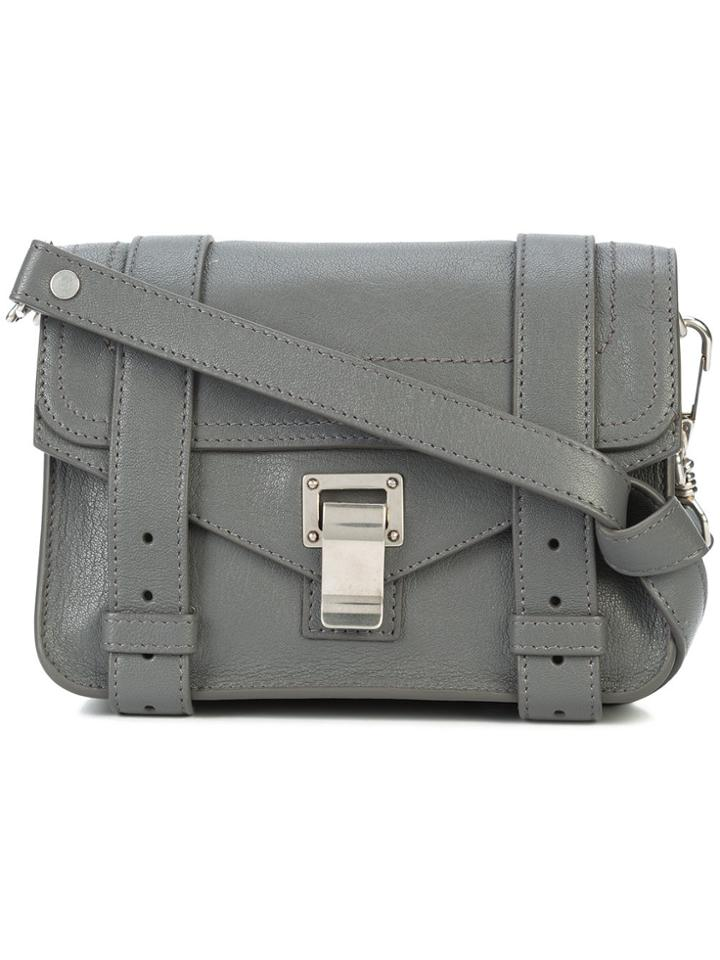 Proenza Schouler Ps1 Mini Crossbody - Grey