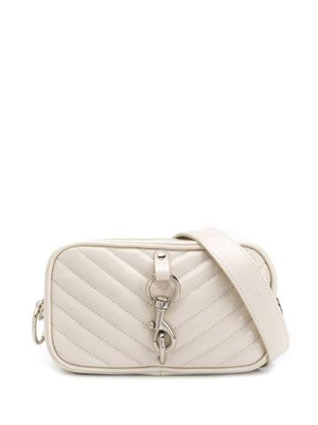Rebecca Minkoff Chevron Embroidered Belt Bag - Neutrals