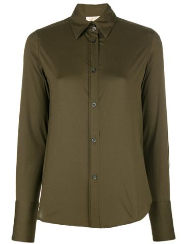 Romeo Gigli Vintage Fitted Shirt - Green