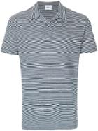 Dondup Striped Polo Shirt - Blue
