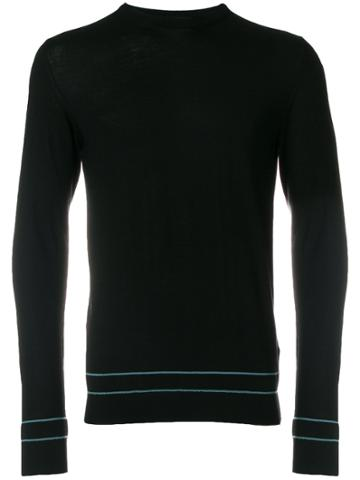 La Perla Crew Neck Jumper - Black