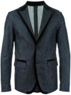 Dsquared2 - Denim Blazer - Men - Cotton/polyester/spandex/elastane/viscose - 48, Blue, Cotton/polyester/spandex/elastane/viscose