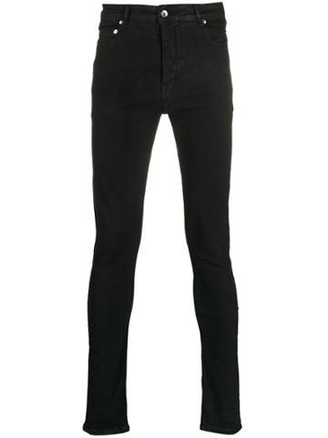 Rick Owens Drkshdw Mid Rise Skinny Jeans - Black