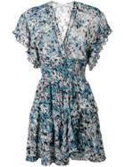 Iro Patterned Dress - Blue
