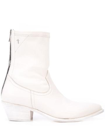 Rta Western Boots - White