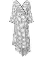 Dvf Diane Von Furstenberg Patterned Wrap Dress - Multicolour
