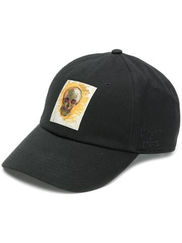 Vans Vans X Van Gogh Museum Skull Baseball Cap - Black