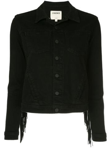 L'agence L'agence 1321eknj Black Natural (veg)->cotton