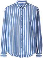 Closed Striped Denim Shirt - Blue