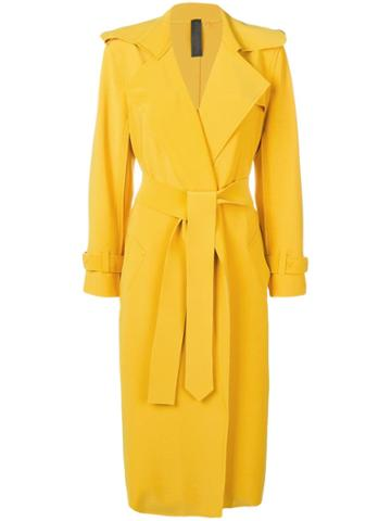 Norma Kamali Robe Coat - Yellow