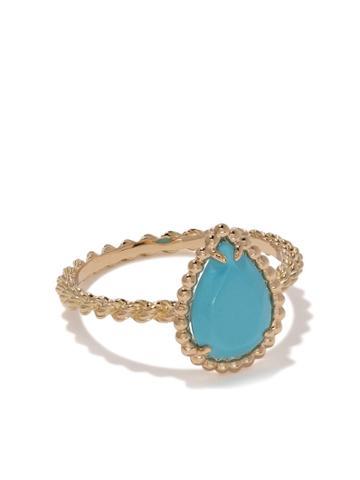 Boucheron Teardrop Stone Ring - Yg