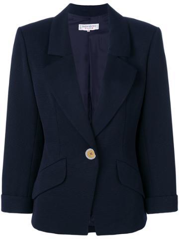 Yves Saint Laurent Vintage Ysl Jacket - Blue
