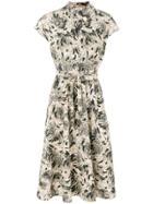Bellerose Printed Midi Dress - Nude & Neutrals