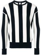 Doppiaa Striped Sweater - Blue