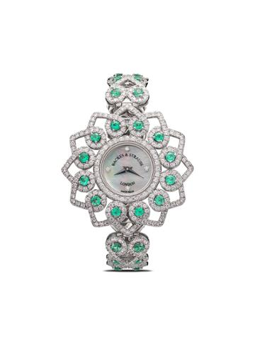 Backes & Strauss Victoria Princess Emerald 36mm - White