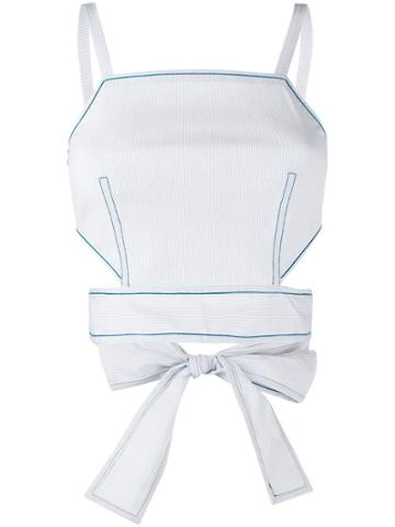 La Perla Ginko Beachwear Top - Blue