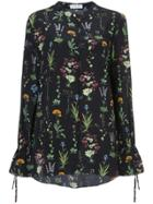 Altuzarra Floral Print Shirt - Black