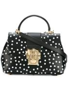 Dolce & Gabbana - Lucia Satchel - Women - Leather - One Size, Black, Leather