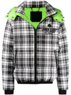 Philipp Plein Plaid 20th Anniversary Jacket - White