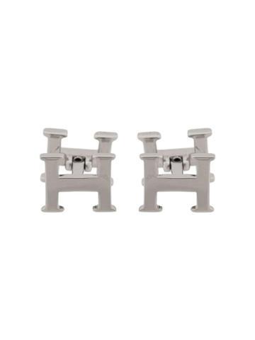 Hackett 'h' Logo Cufflinks - Metallic