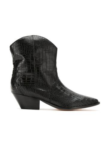 Schutz Schutz S2068900040001 Black Furs & Skins->leather