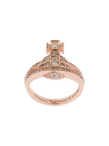 Vivienne Westwood Mini Orb Ring - Pink