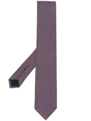 Corneliani Jacquard Tie - Red