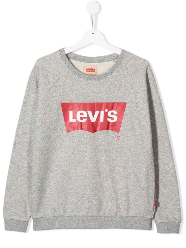 Levi's Kids Logo Sweatshirt - Grey