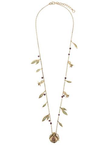 Goossens Harumi Grenade Necklace - Gold