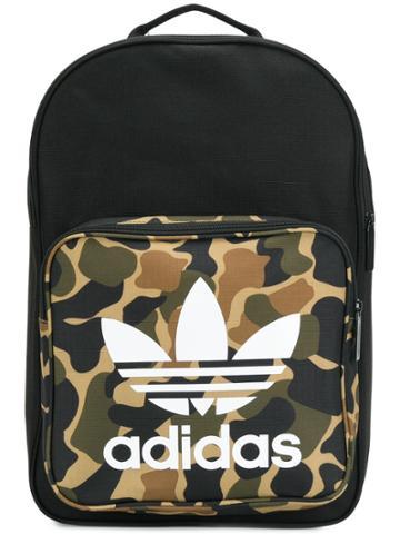 Adidas Adidas Originals Classic Camouflage Backpack - Black